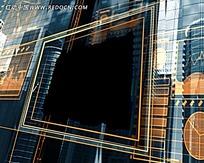 城市建筑线条视频素材