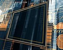 反射玻璃纹路视频素材