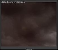 下雨前的天空视频素材