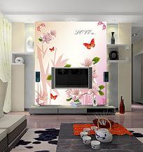 电视背景墙现代电视背景墙模板模板