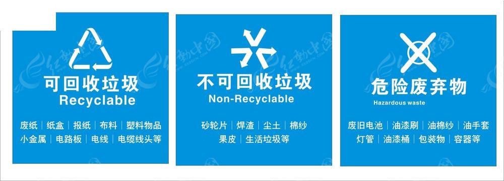 垃圾标分类
