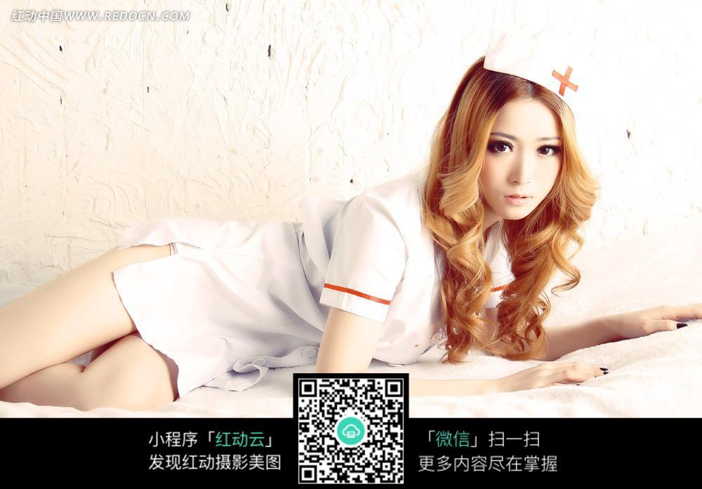 美女护士cosplay人物图片