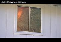 房间燃烧视频素材