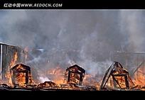 火灾现场视频素材
