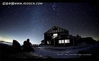 繁星夜幕视频素材