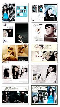 个性摄影相册模板