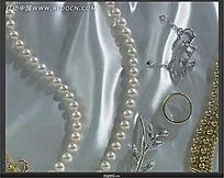 实拍珍珠珠宝鉴赏视频素材