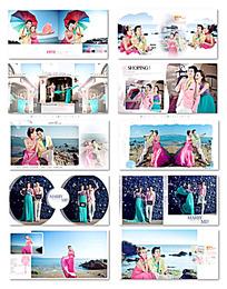 现代婚纱照相册模板