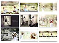 小清新摄影相册设计