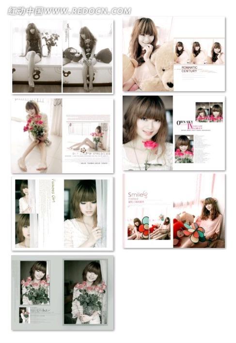 艺术照相册设计图片