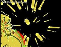 金银花花纹变化视频