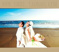 海边婚纱摄影