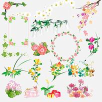 花边装饰素材
