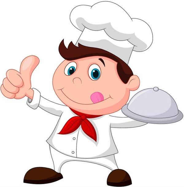 卡通人物厨师