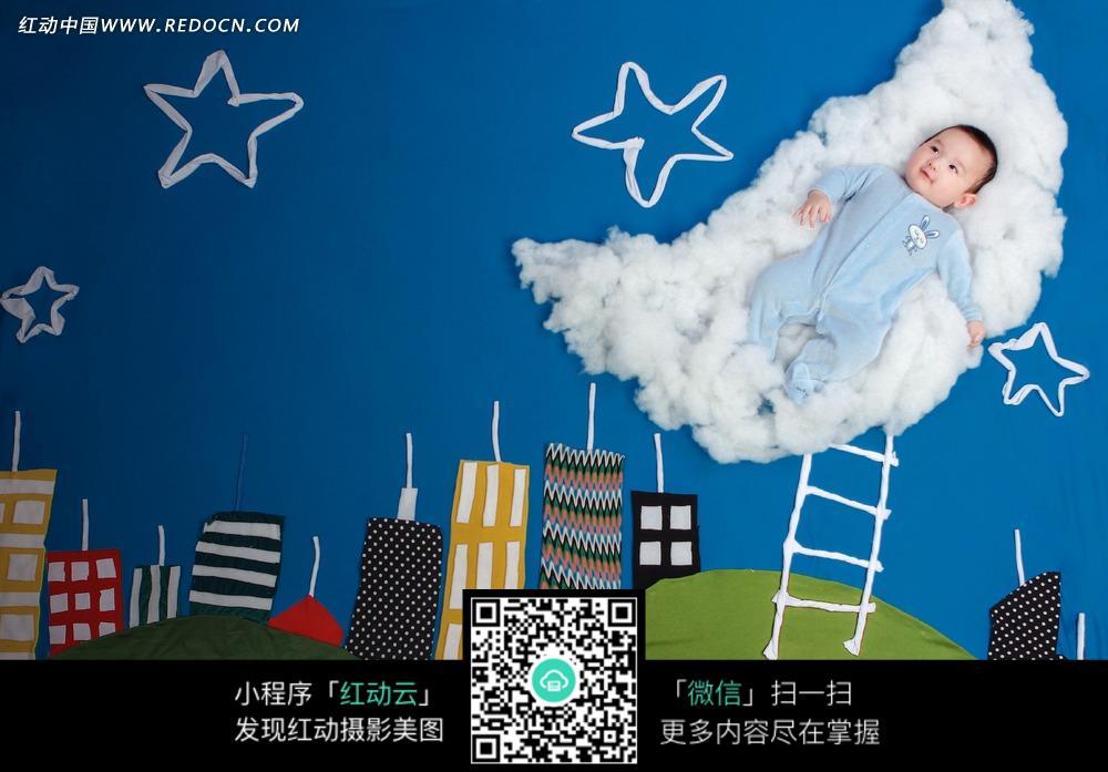 免费素材 图片素材 人物图片 儿童幼儿 满天星宝宝写真  请您分享: 红