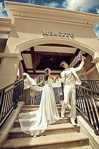 欧式浪漫婚纱摄影