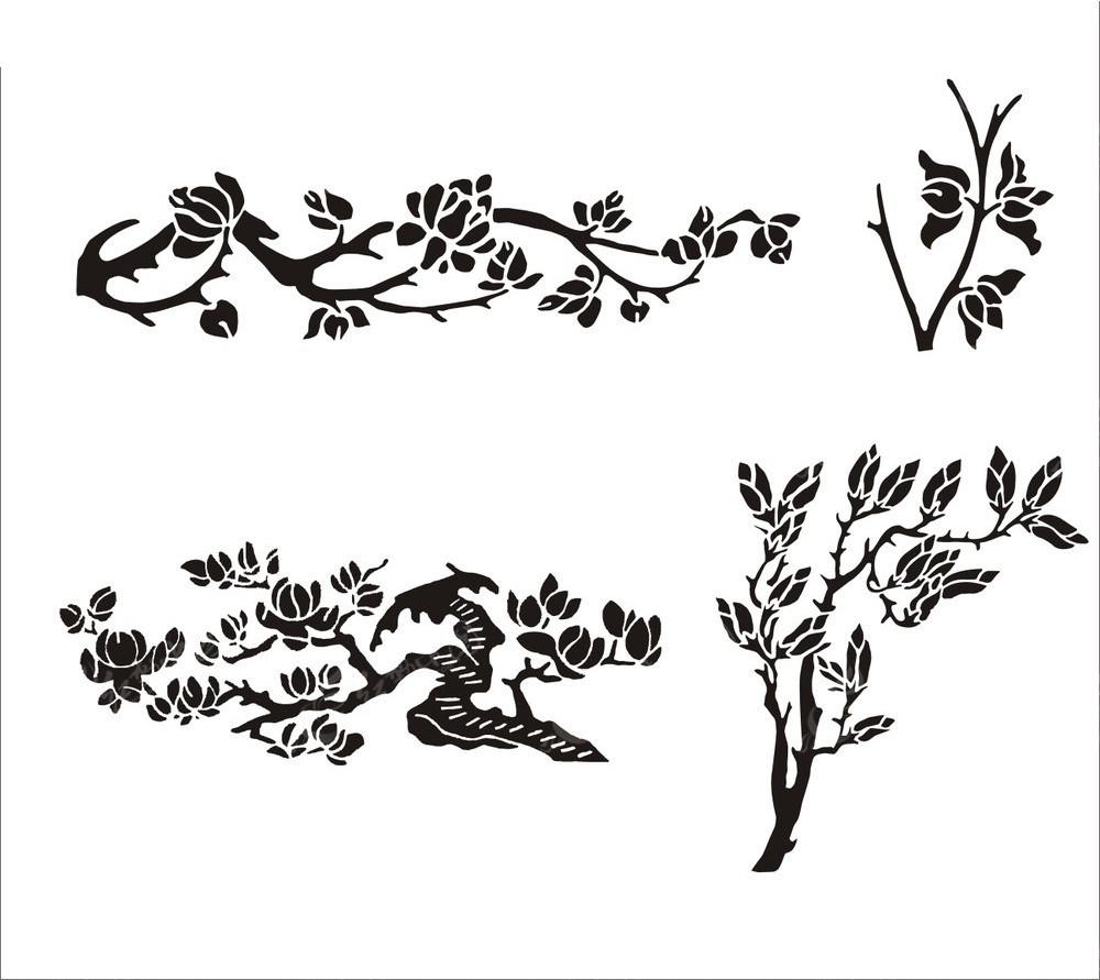 免费素材 矢量素材 花纹边框 花纹花边 兰花花纹素材  请您分享: 素材