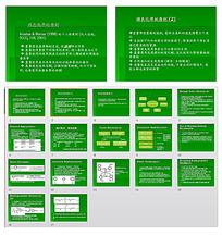 绿色化学原则ppt模板