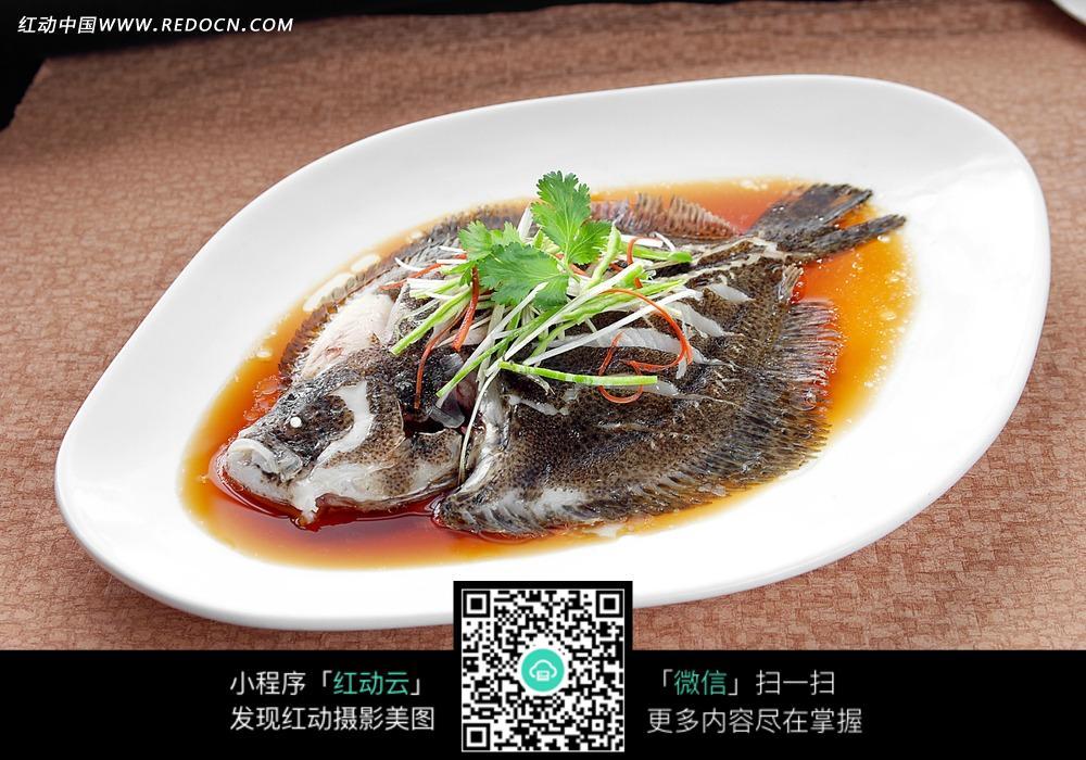 清蒸多宝鱼图片