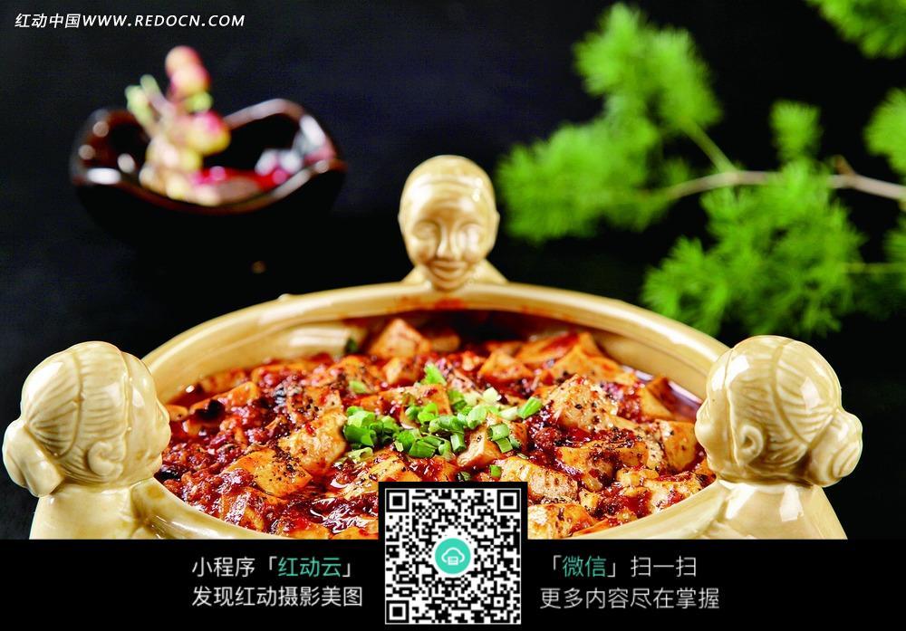 麻婆豆腐图片_中华美食图片