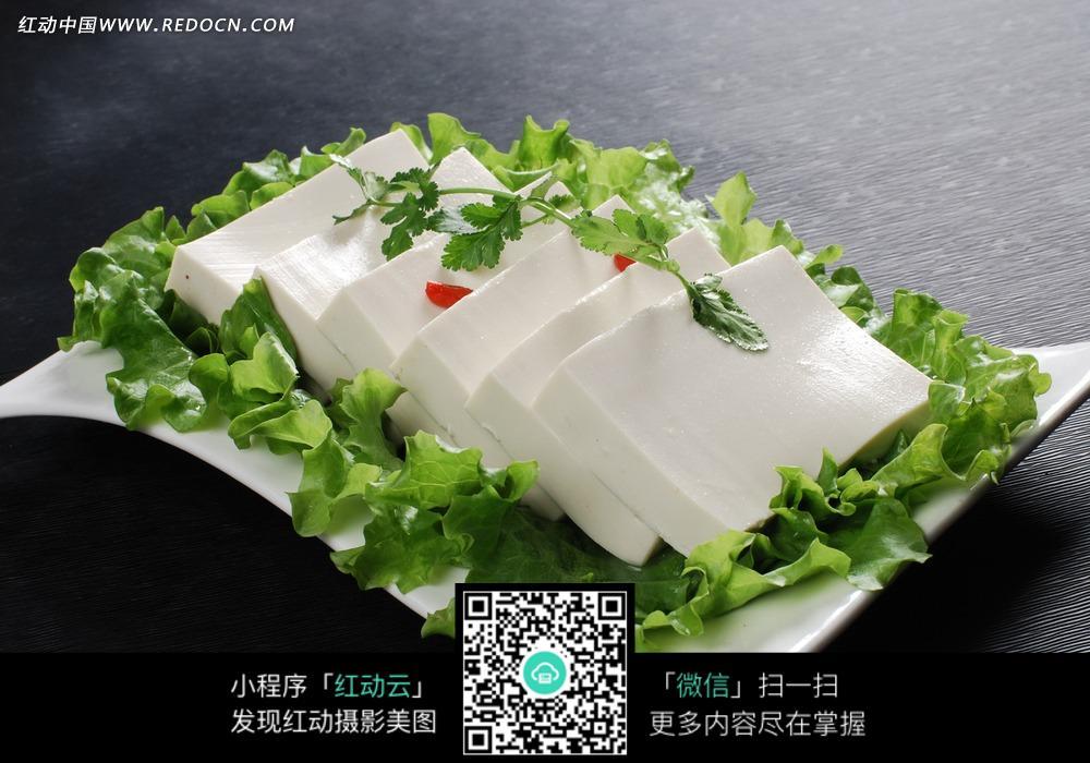 嫩豆腐_食材原料图片_红动手机版