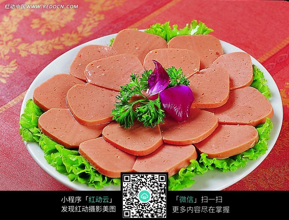 午餐肉 肉食 食材原料