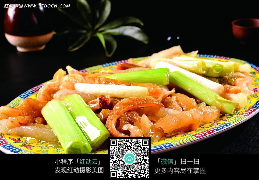 免费素材 图片素材 餐饮美食 中华美食 美味大葱烧海参