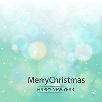 圣诞快乐和新年快乐矢量背景