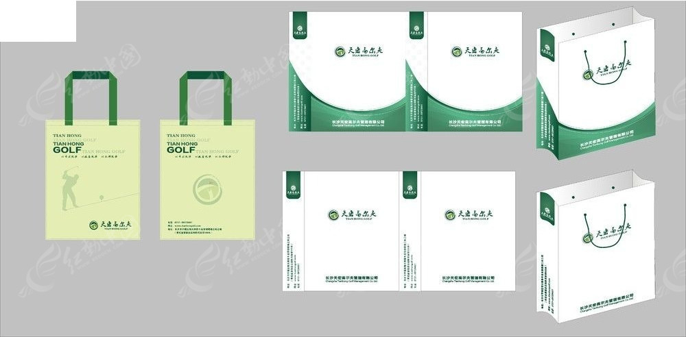 免费素材 矢量素材 广告设计矢量模板 vi设计 手提袋环保袋  请您分享图片