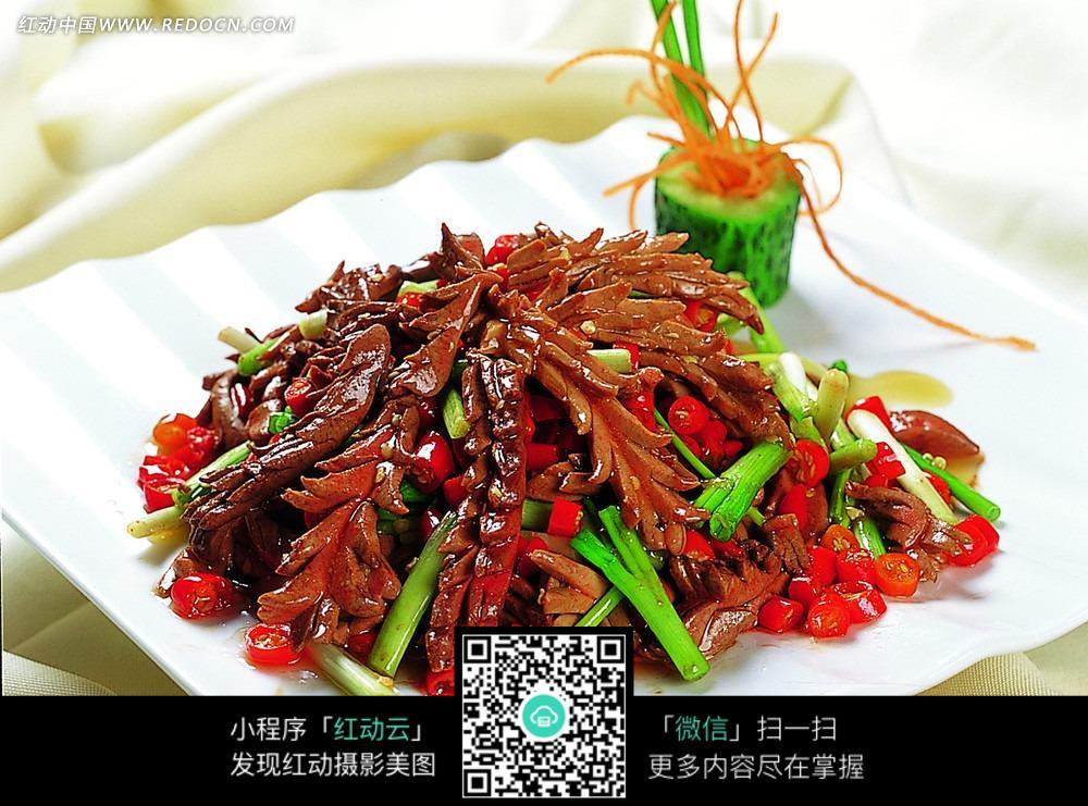 免费素材 图片素材 餐饮美食 中华美食 葱香嫩腰花