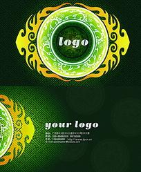 网页卡片设计_22款圆形名片设计欣赏设计路上网页设计、网