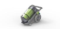 家用吸尘器3D模型