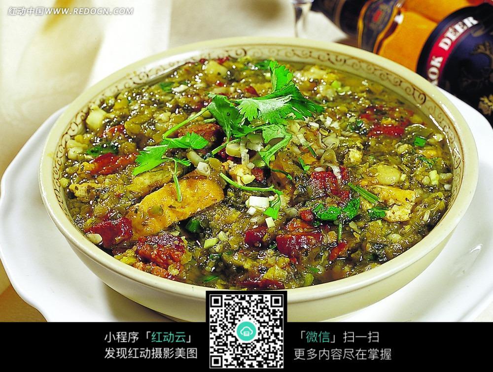 免费素材 图片素材 餐饮美食 中华美食 猪肉熬酸菜