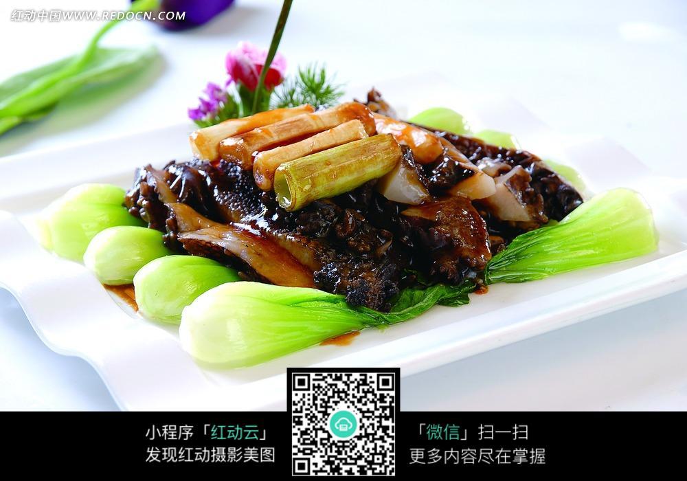 免费素材 图片素材 餐饮美食 中华美食 葱烧海参