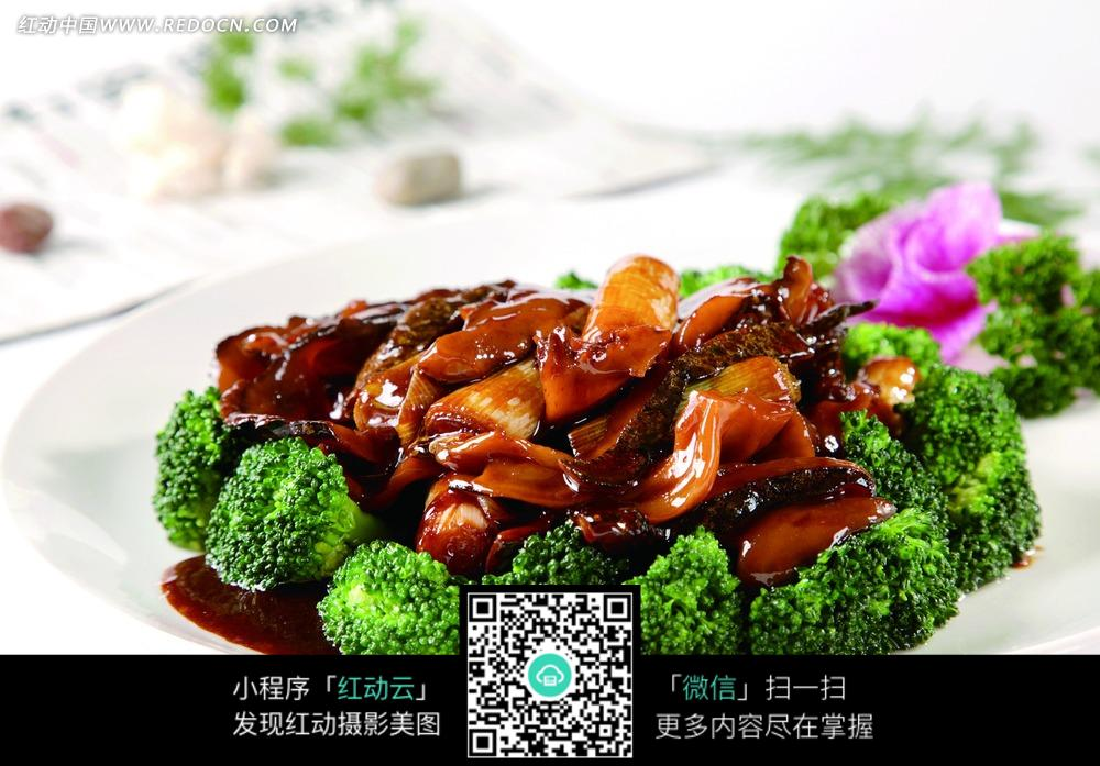 免费素材 图片素材 餐饮美食 中华美食 大葱烧海参