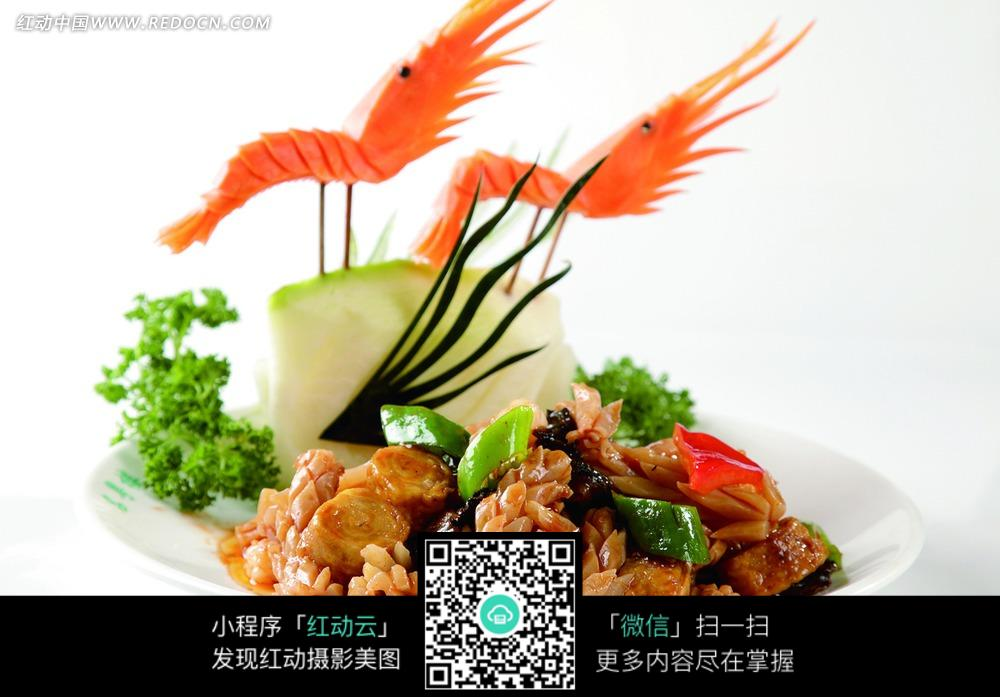 杭式 溜 三鲜 图片 中华美食图片