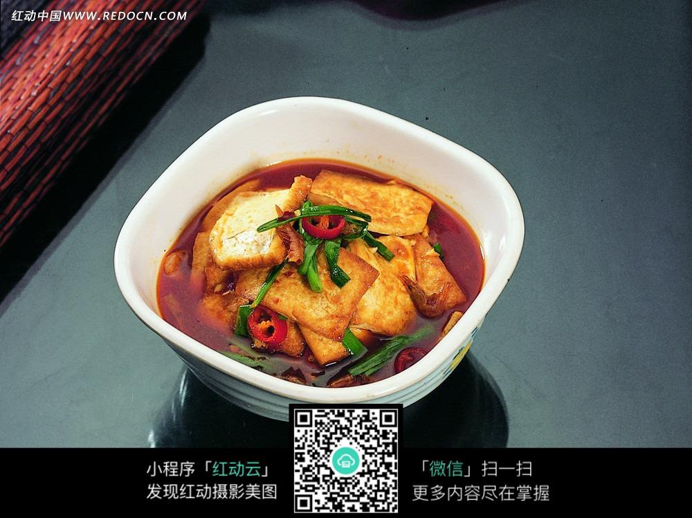 家乡煎豆腐美食
