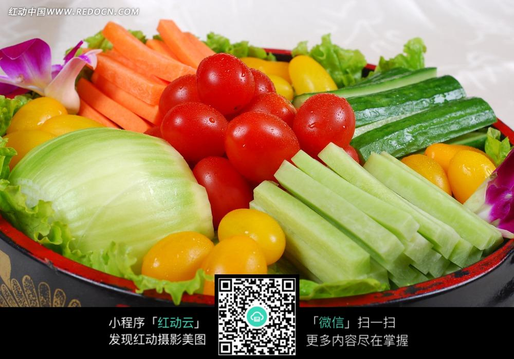 免费素材 图片素材 餐饮美食 中华美食 蔬菜拼盘  请您分享: 红动网提
