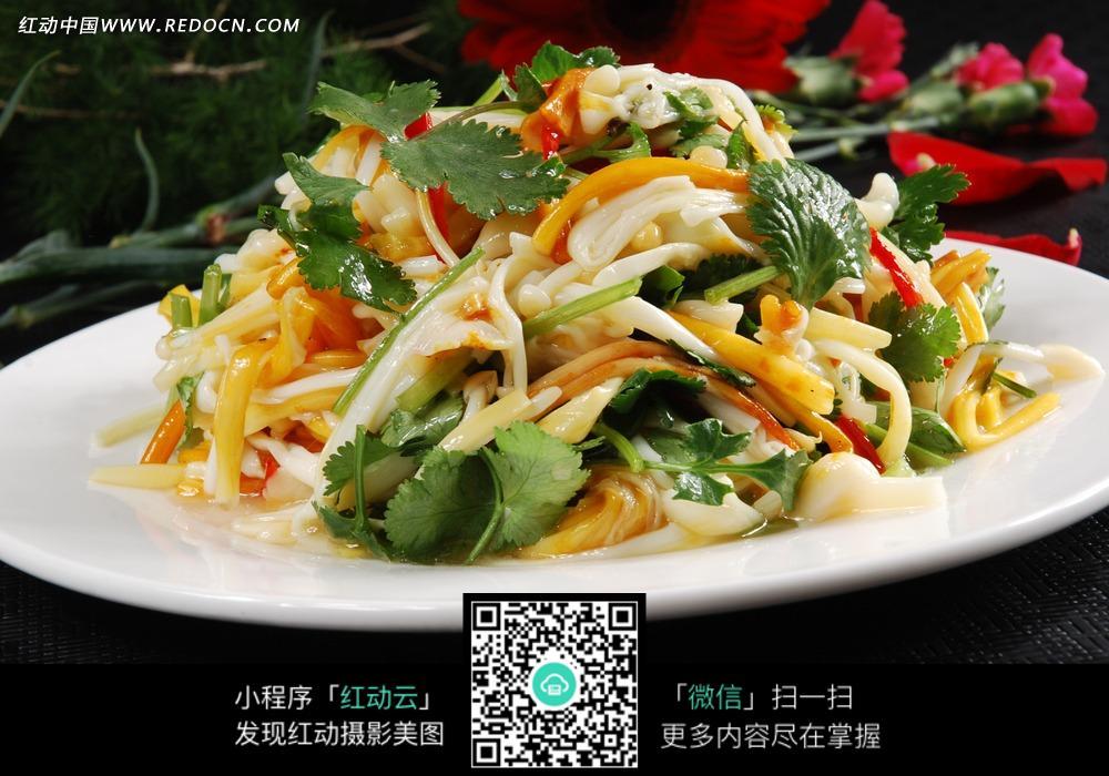 免费素材图片美食餐饮美食中华素材香菜黄花菜金针菇美食地图成都百度图片