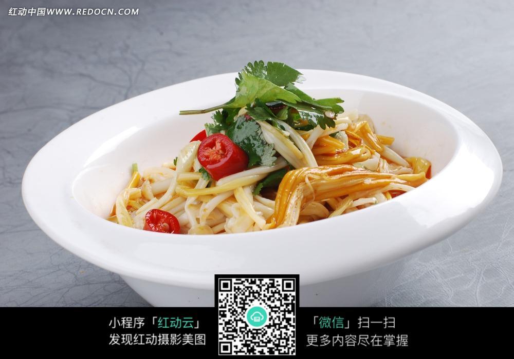 免费素材图片美食餐饮美食中华素材黄花菜金针菇炒粉攻略前美食铺图片