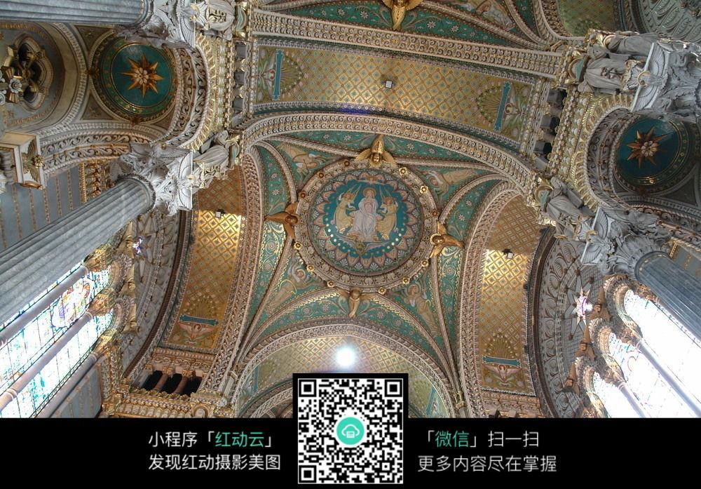 穹顶细部图片图片