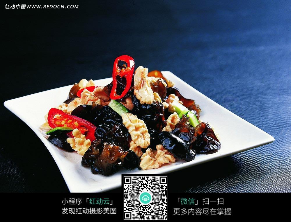 美味黑木耳炒肉图片_中华美食图片图片