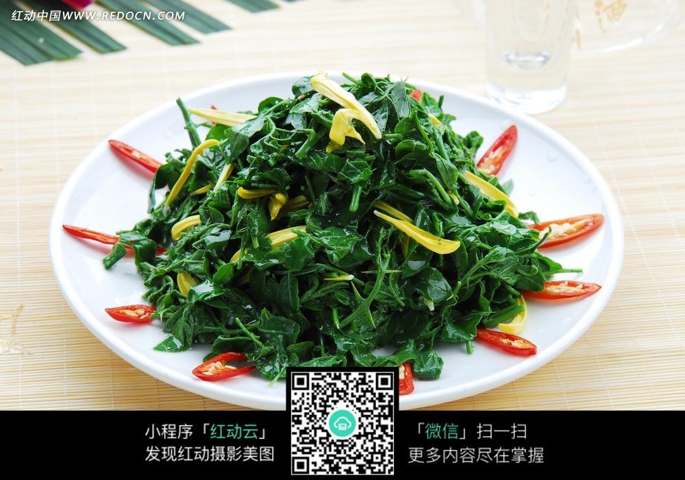 清炒茼蒿菜图片-美食图库|图片库素材下载(编号:3412355)