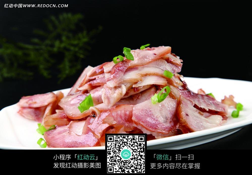 蒜汁猪头肉