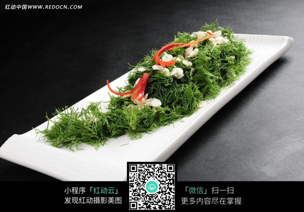杏仁凉菜图片