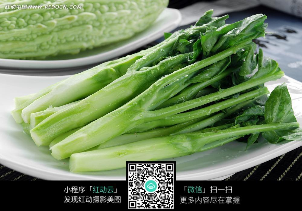 新鲜白菜心图片