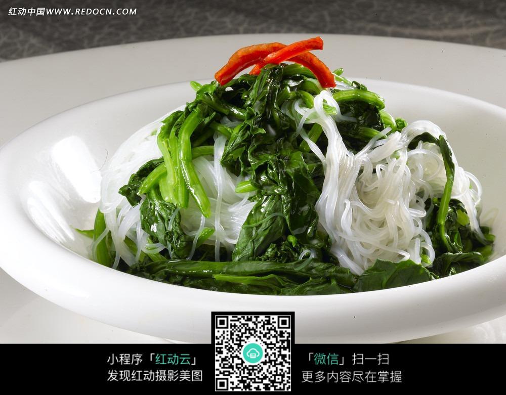 菠菜粉丝图片