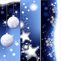 清新圣诞banner