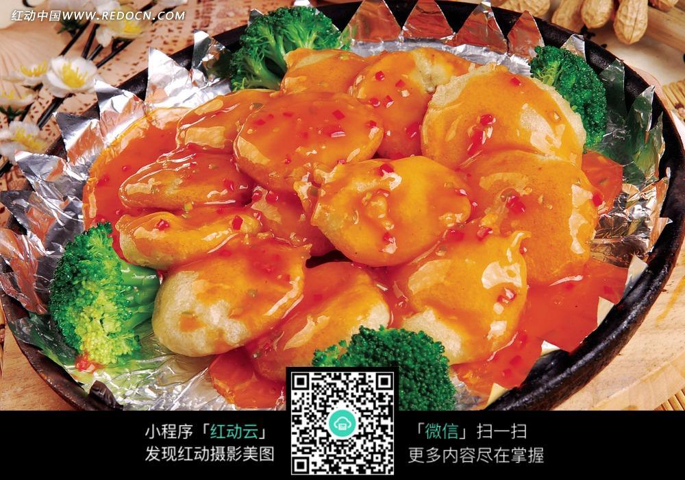 椒盐茄夹图片_【郑州红樽坊团购】红樽坊10人餐