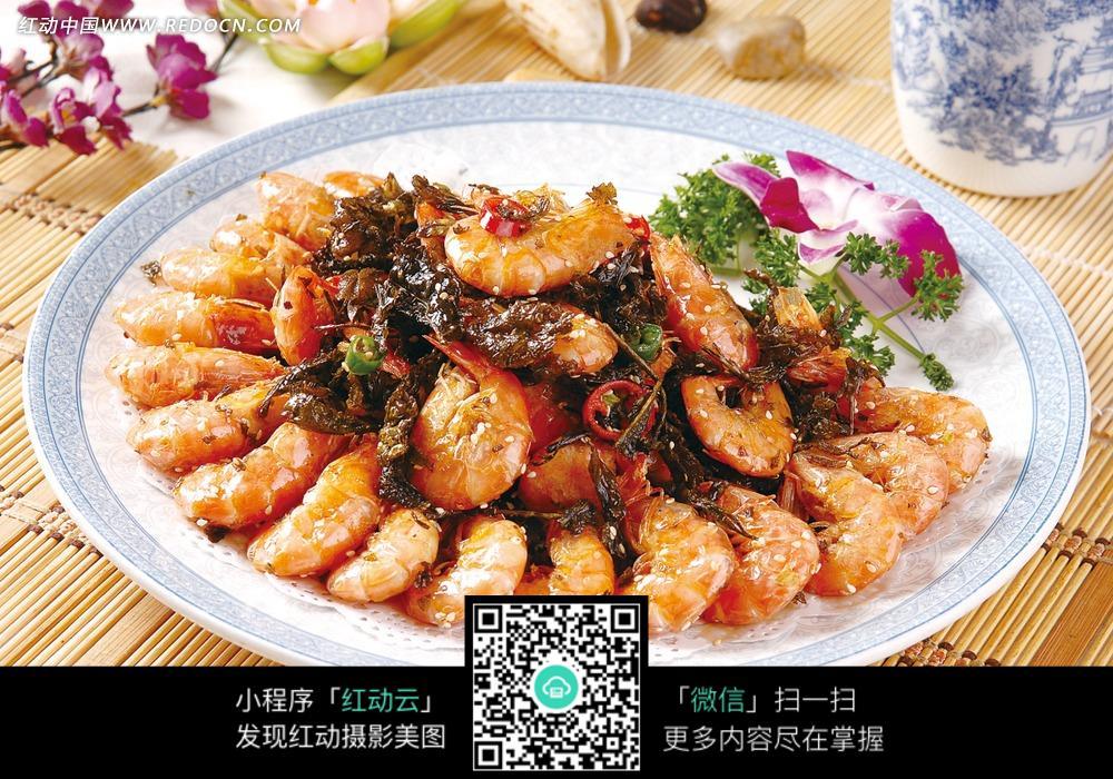 椒盐竹节虾_明记海鲜酒家椒盐竹节虾图片香港美食